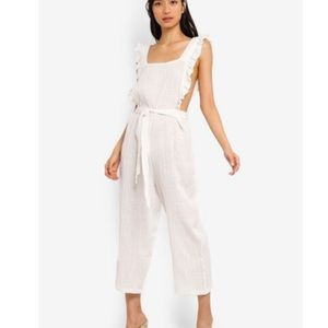 Topshop Crop Jumpsuit, New